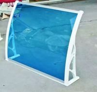 high quality Acrylic glass door canopy /awning