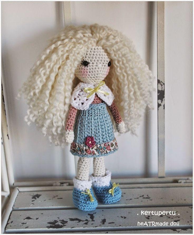 kertupertu: Heegeldatud nukk Lily / Gehakelte Puppe Lily ...