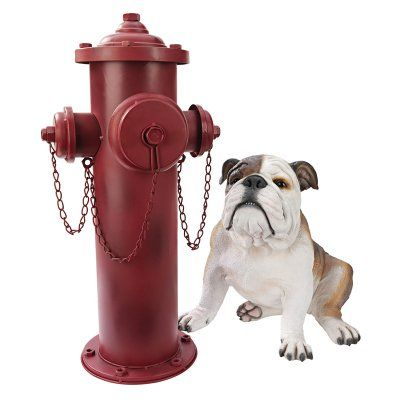 Design Toscano Vintage Metal Fire Hydrant Statue - DC122012