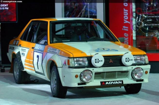 Mitsubishi Lancer SL Rally Car!