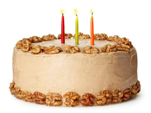 Birthday cake of the month for November from #FNMag: Maple-Walnut Cake