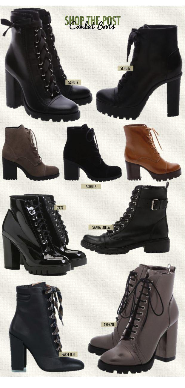 22 Formas de usar Combat Boots