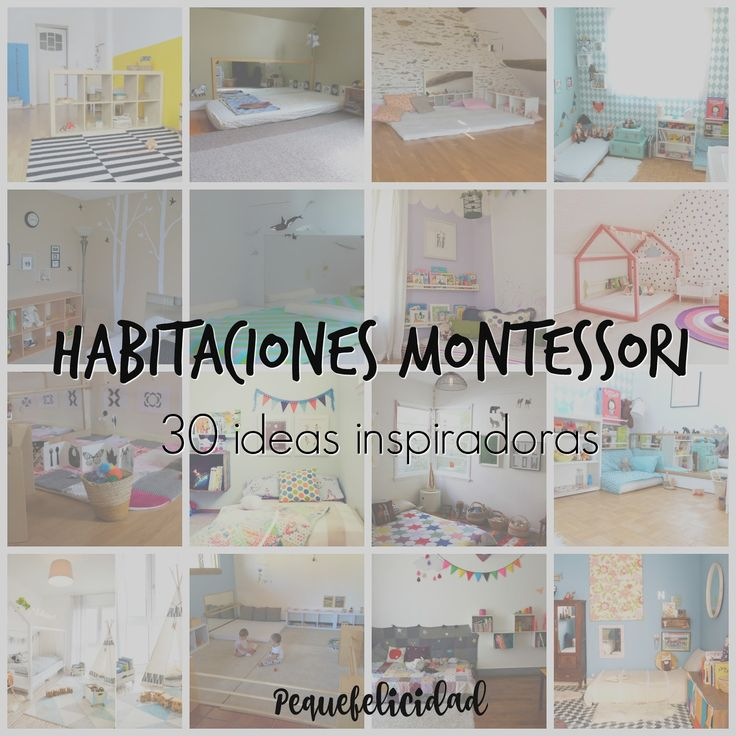 M s de 25 ideas incre bles sobre dormitorio montessori en for Cuartos montessori para ninas