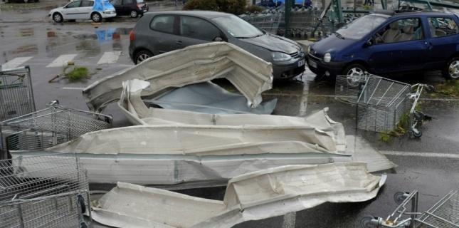 Deux mini-tornades à Marseille et en Vendée