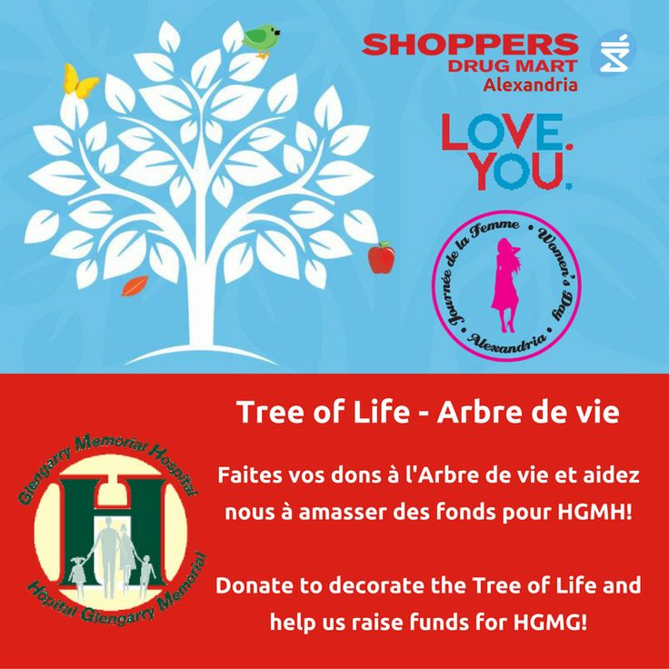 """Tree of Life"" drive for HGMH Campagne ""Arbre de vie"" pour HGMH - Alexandria, Ont."