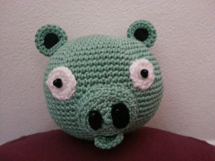 Amigurumi Cerdito Angry Birds : 1000+ images about Miei amigurumi on Pinterest Dolls and ...