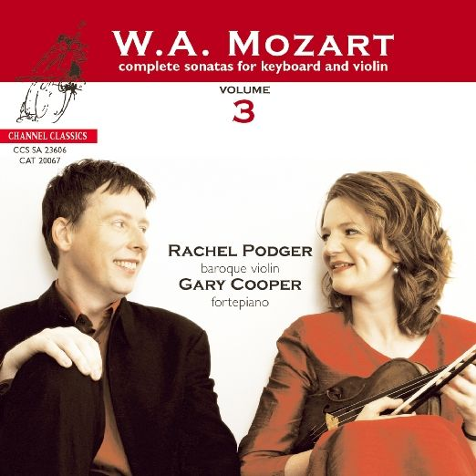 Wolfgang Amadeus Mozart, Rachel Podger, Gary Cooper - Mozart: Complete Sonatas for Keyboard and Violin, Vol. 3 - Amazon.com Music