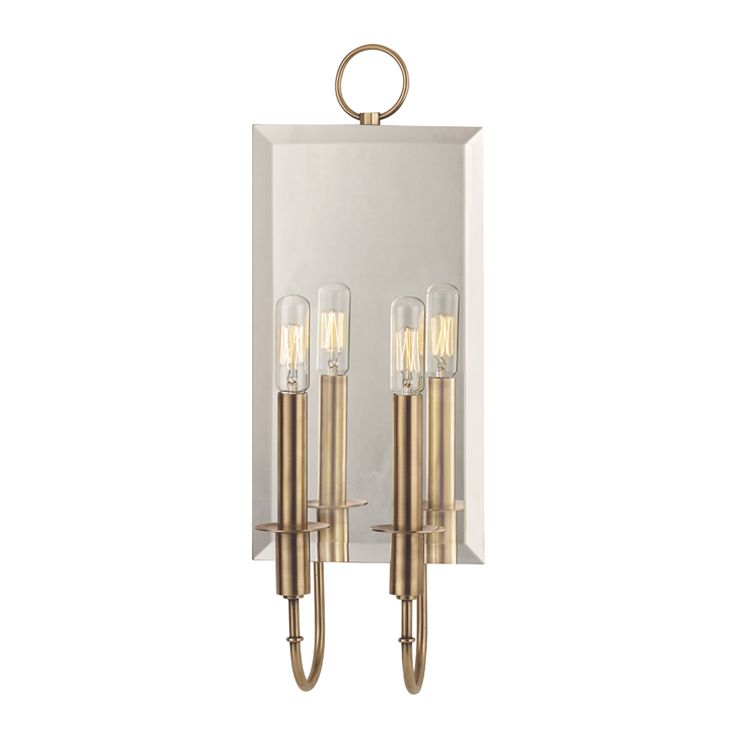 Mirrored Wall Sconce 211 best lights - sconce images on pinterest | wall sconces, wall