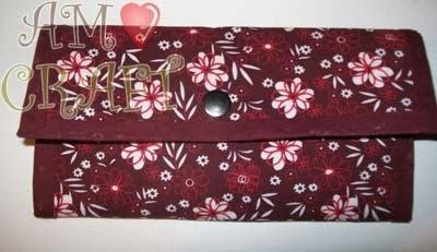 AMO CRAFT: Passo a passo carteira de tecido: Amo Crafts, Fabric, 'Ll Do, Carteira De, Ficou Linda, Passo Carteira, Make, Fabric Color Pink, Linda Carteira