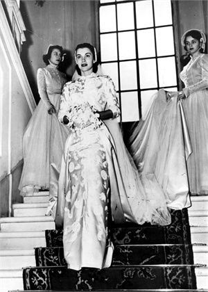 Linda Christian, 1949 vestito Sorelle Fontana © Getty Images
