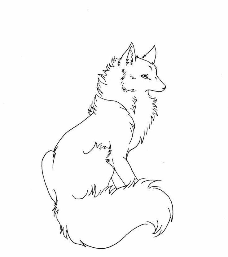 20 best Wolf Sketch images on Pinterest | Wölfe, Skizzierung und ...