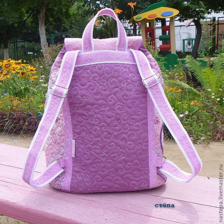 """Купить Детский рюкзак """"Полет Розамунд"""" - рюкзак, детский рюкзак, для девочки, детская сумка, бабочка"""