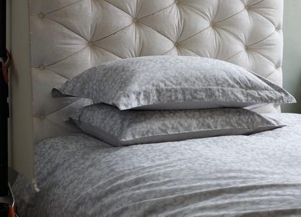 Laura Ashley bedding.