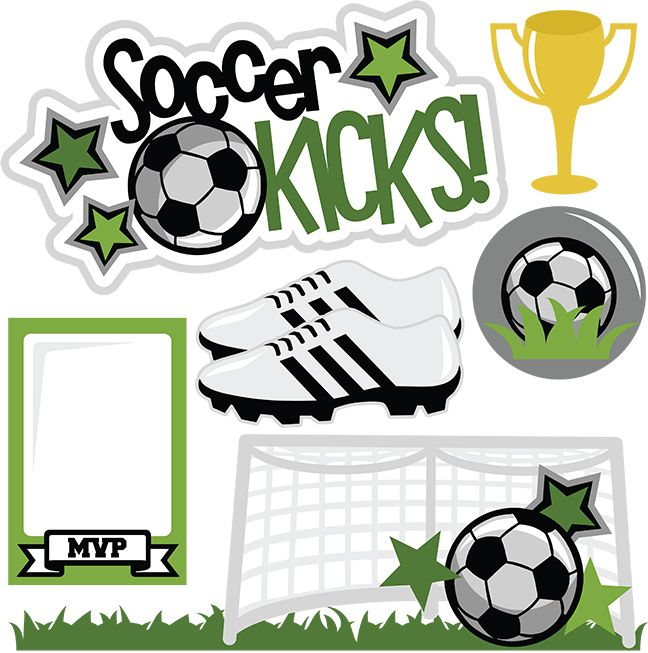 Soccer Kicks SVG scrapbook title soccer svgs soccer svg files soccer svg cuts for cutting machines free svgs