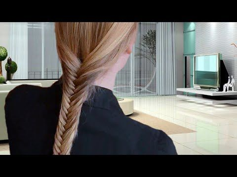 PERFECT FISHTAIL BRAID: How To Do A Fish Tail Braid  Cute Video Tutorial     Please do not forget to Subscribe to my YouTube Channel