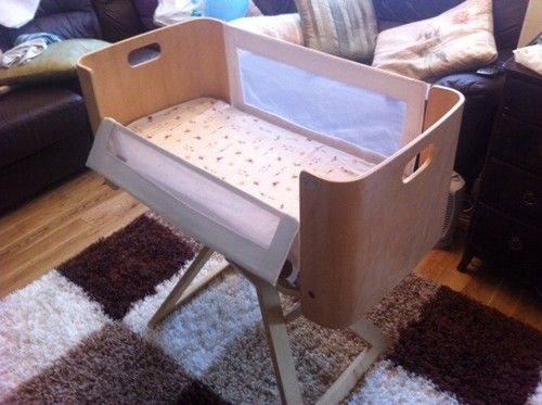 Nct Bednest Co Sleeper Bedside Baby Crib Ebay Great