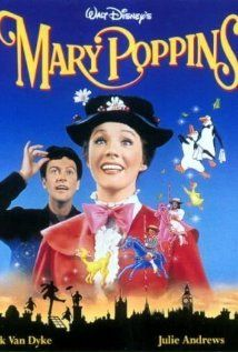 Mary Poppins with Julie Andrews, Dick Van Dyke & David Tomlinson. One