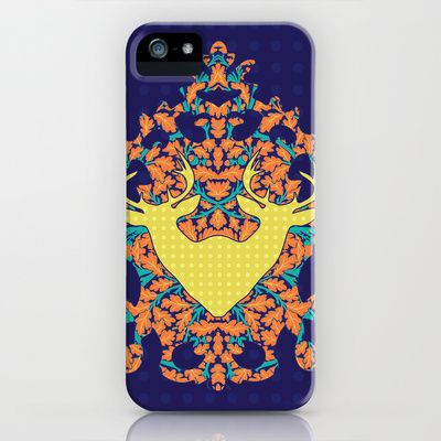 Climbing Waltz : Twins iPhone & iPod Case by Geetika Gulia - $35.00