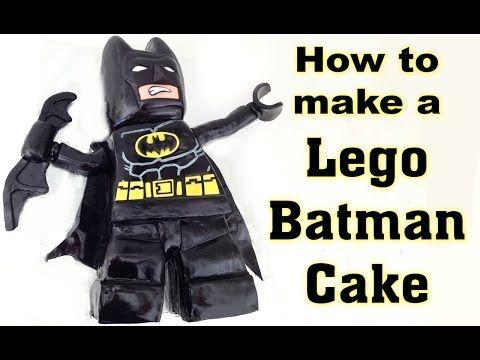 Lego Batman Cake HOW TO COOK THAT Beyond Gotham Cake, PS3, PS4, Xbox, Lego Movie Ann Reardon, My