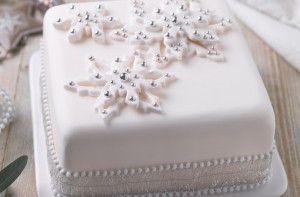 Easy Christmas Cake decoration idea