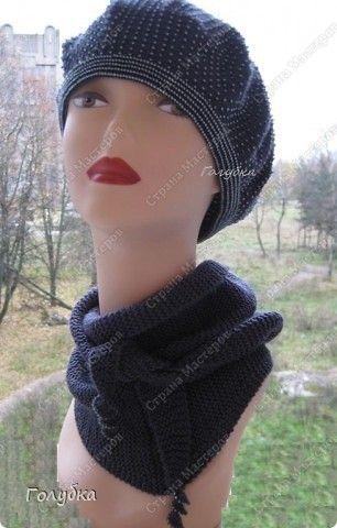 Crochet Berets, Add Beads,