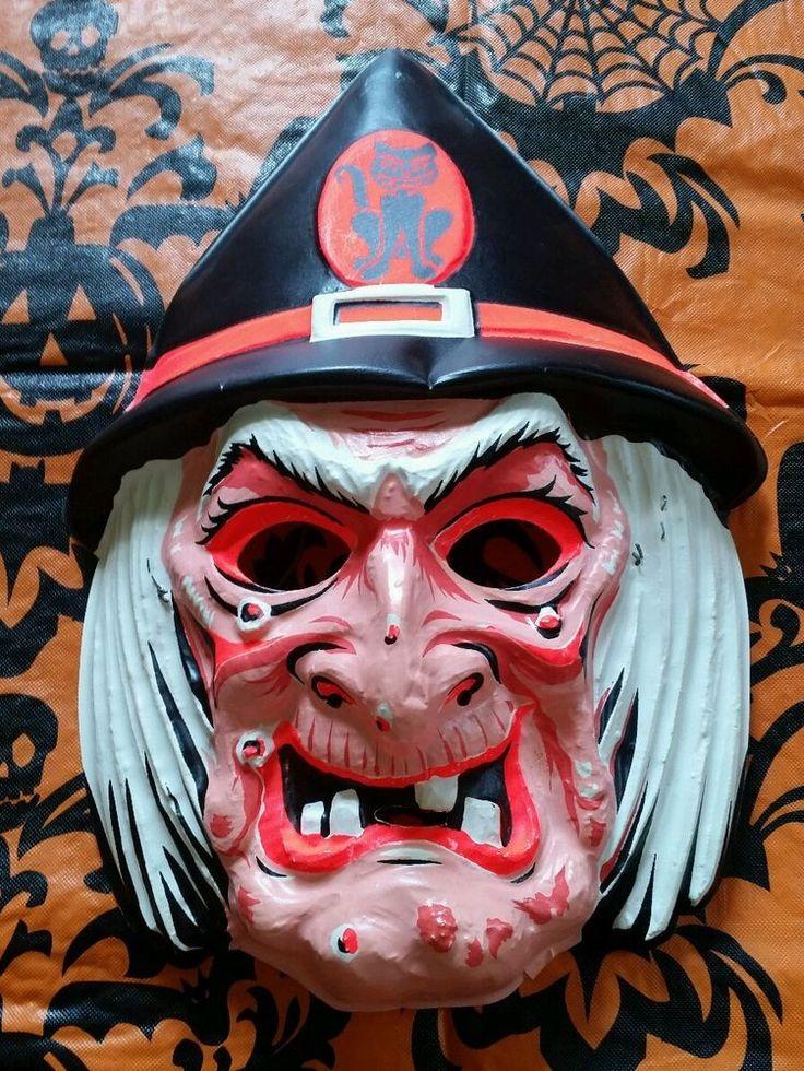 be6f7dcac23af17b4dcf7e0779b99fc2 halloween masks halloween retro