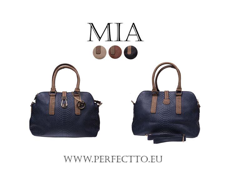 Polecamy torebkę MIA: http://goo.gl/Ng7HII w modny w tym sezonie wzór imitujący wężową skórę. 3 kolory do wyboru! :) #trendy, #modnatorebka