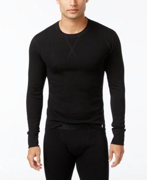Polo Ralph Lauren Men's Long-Sleeve Undershirt - Black XL