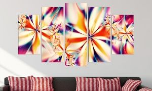 "Groupon - Multipanel Gallery-Wrapped Contemporary Artwork - Canvas Giclée Prints - 60"" wide  in [missing {{location}} value]. Groupon deal price: C$89.99"