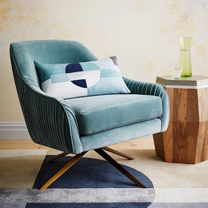 A Shapely Swivel Seat Inspired By Mid Century Design Our: 60 Best Images About Chair Flair On Pinterest