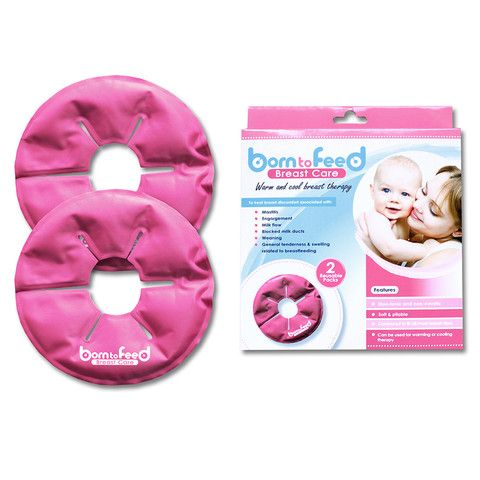 Born To Feed Breast Care - Warm & Cool Breast Therapy. Perfect for mastitis or sensitive breasts.