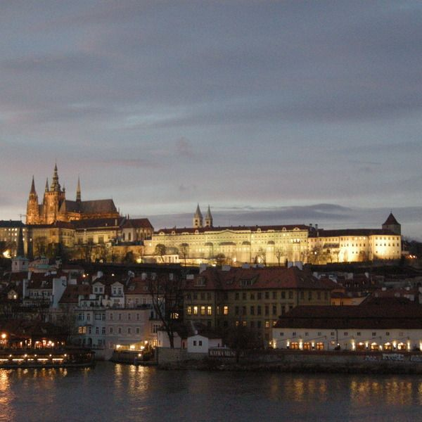 Walk through the beautiful city of Prague and take in the sights while making your way to the river which surrounds the city. Be sure to stop by the Black Light Theater while you await your ferry ride. Once the sun begins to set find the nearest ferry (there are many) and pay the small admission ...