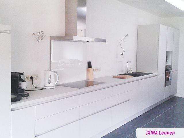 Cuisine ixina blanche cuisine blanche et taupe with cuisine ixina blanche with cuisine ixina - Witte steen leroy merlin ...