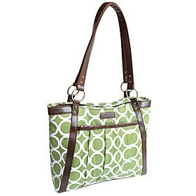 Kailo Chic Women's Pleated Laptop Tote - eBags.com