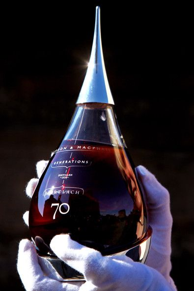 Scotch Whisky » Mortlach 70 Year Old in gorgeous #whiskey bottle #packaging PD