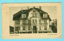 Warnemünde   Rostock   Hotel Undine Strandweg 15  Karte mit Marke 26.8.1929 1