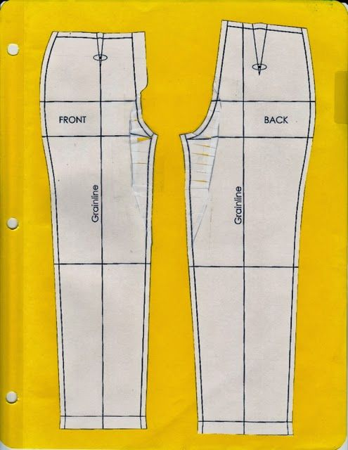 Cation Designs: Pants Pattern Alterations. How to translate a vertical fish-eye dart to a flat pattern alteration. (Many other great alternations shown, too.)