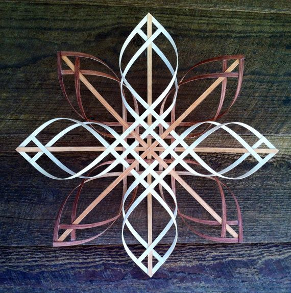 Swedish, Scandinavian, Moravian, Appalachian, snowflake ... Many words are used to describe these stars made from simple materials. Cherry,