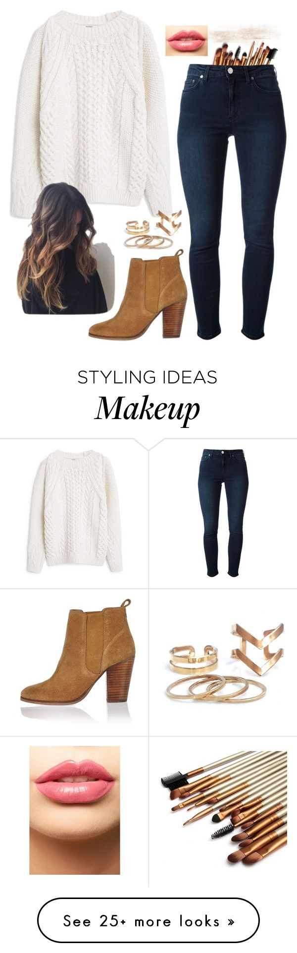 """""""No. 139"""" by becca0904 on Polyvore featuring MANGO, Acne Studios, River Island and LASplash"""