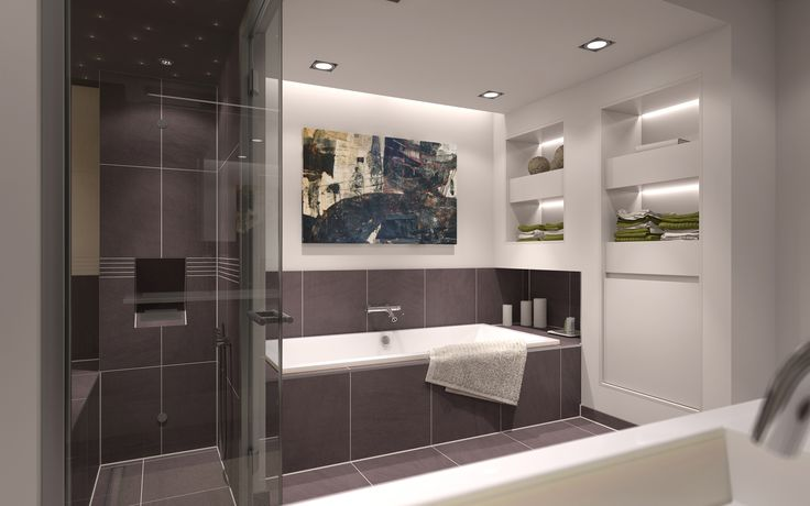 22 best badezimmer images on Pinterest Bathroom, Bathrooms and - badezimmer 10 qm