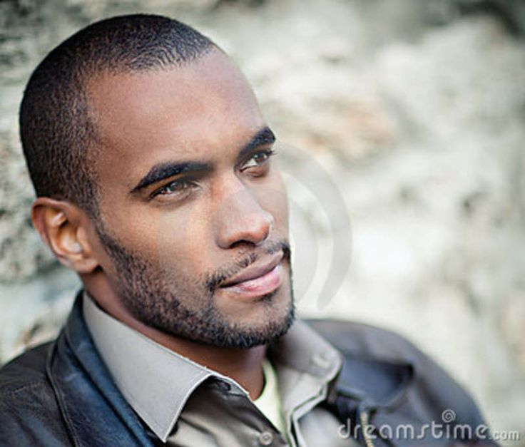 Black Women White Men Love >> handsome black men | Portrait Of Handsome Black Man Royalty Free Stock Images – | PinPoint