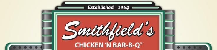 Smithfields Bar-B-Q in North Carolina...fast food Carolina style bar-b-q