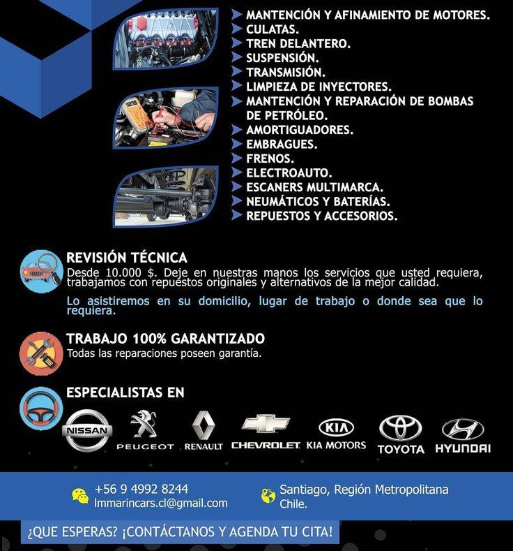 QUE ESPERAS? Contactanos y pide tu presupuesto! Ya tenemos dirección fisica y al mismo tiempo ofrecemos servicios a domicilio como usted lo prefiera. 100% responsables. TODOS LOS TRABAJOS POSEEN GARANTIA. #clientesatisfechos #trabajo #work #mechanic #mecanico #santiago #venezolanosenchile