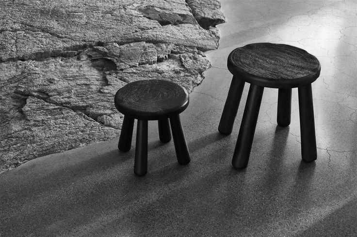 The SVÄRTAN limited edition stool. Small enough to fit anywhere, and made from strong mango wood. #SVÄRTAN #IKEAcollections #LimitedEdition #India #stool #endtable