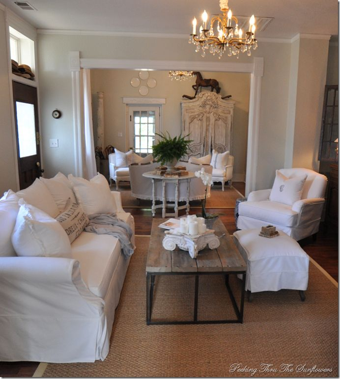 Shabby Chic Living Room: 363 Best Overstuffed Chairs And Sofas Images On Pinterest