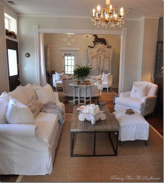 Shabby Chic Living Room For The Home Pinterest