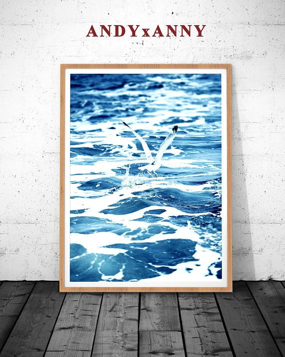 Us5 99 ocean poster wave wall print waves wave poster blue wave print ocean wall decor wave print printable wall art ocean wave poster ocean poster