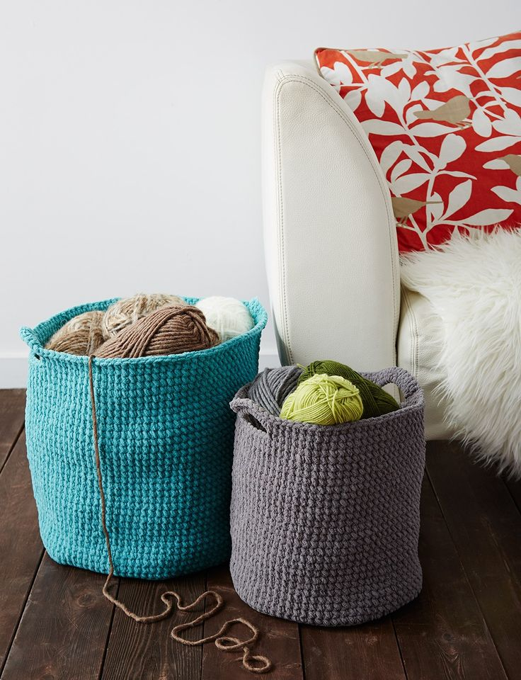 Crochet Stash Basket: free #crochet #basket #pattern