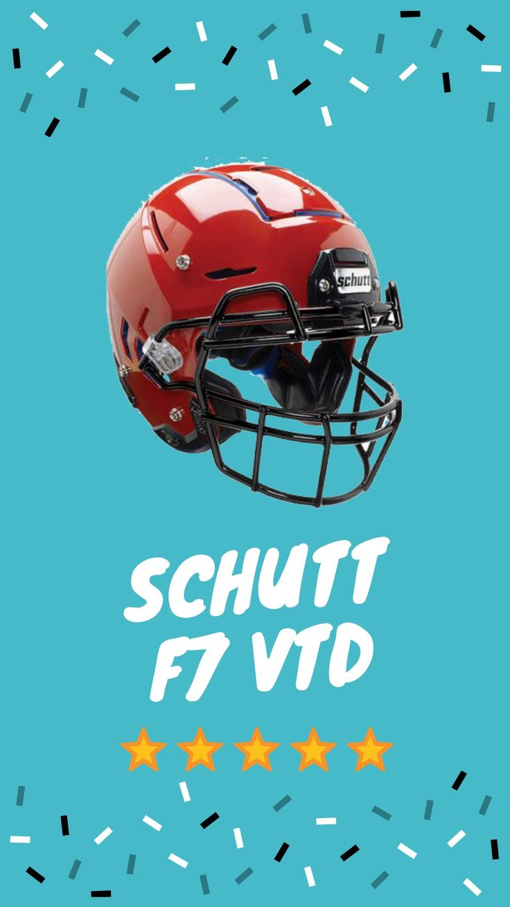 Schutt f7 vtd in 2020 football helmets youth football