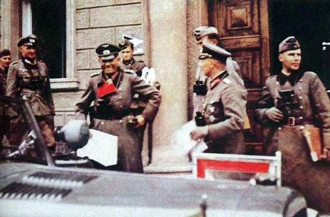 """Heinz Guderian during the opening stage of Operation """" Barbarossa """" 1941"""